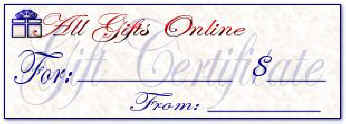 Gift Certifcates - $25