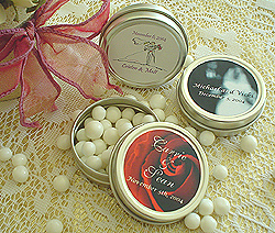 Personalized Candy Tins