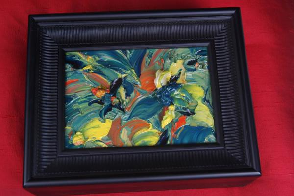 Hand Painted Abstract