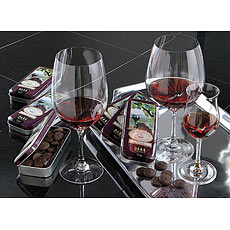 Wine Lover's Chocolate Collection