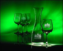 Tasters Wine Set - 5 pc - Deep Etch