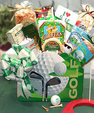 Golf Delight Basket