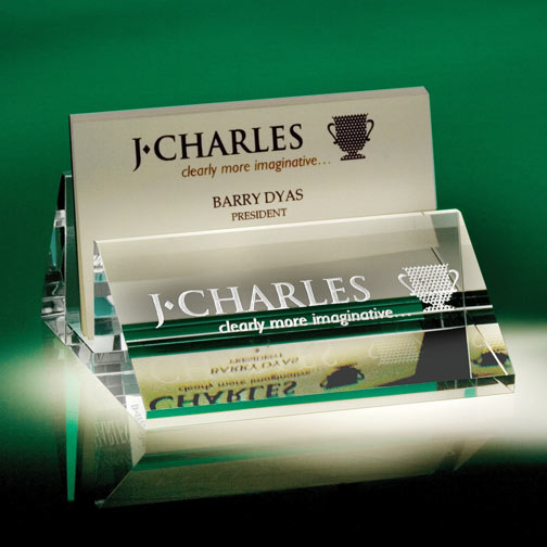 Engravable Business Card Holder