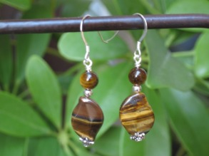 Tiger Eye Earrings