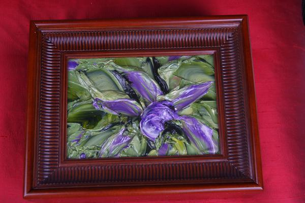 Hand Painted Abstract - Decorative Box