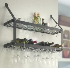 Double Wine Rack